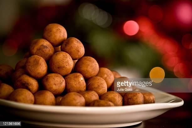 marzipan balls - marzipan - fotografias e filmes do acervo