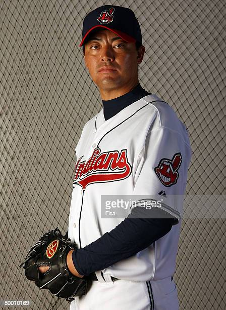 Masa Kobayashi of the Cleveland Indians poses during Photo Day on February 26 2008 at Chain O' Lakes in Winter Haven Florida