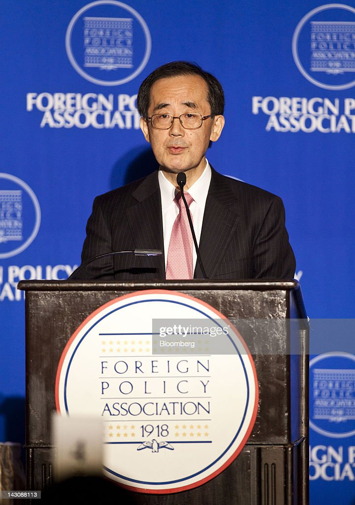 Bank of Japan Governor Masaaki Shirakawa Speaks At The Foreign Policy Association