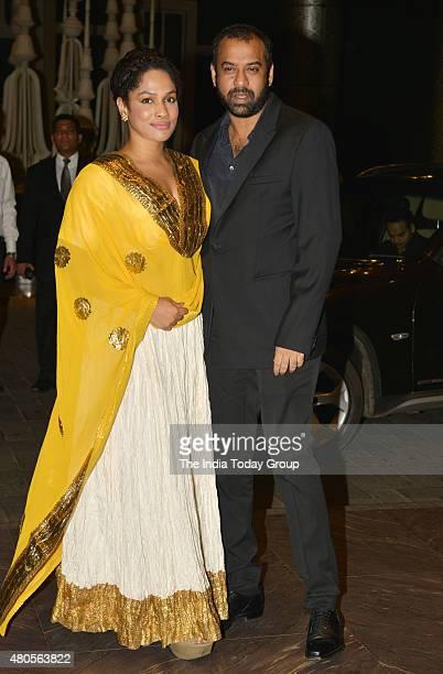 Masaba Gupta at the wedding reception of Shahid Kapur and Mira Rajput in Mumbai