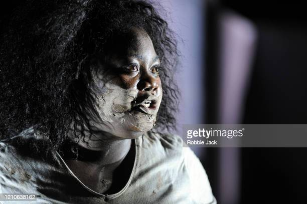 Masabane Cecilia Rangwanasha as Susanna in The Royal Opera's production of George Frideric Handel's Susanna directed by Isabelle Kettle and conducted...
