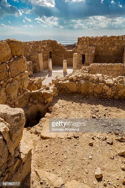 Masada  Archaeological site in the Judean Desert.