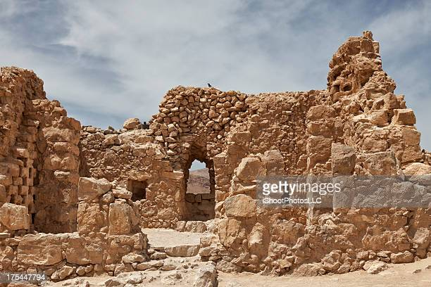 masada in israel - historical palestine stock pictures, royalty-free photos & images