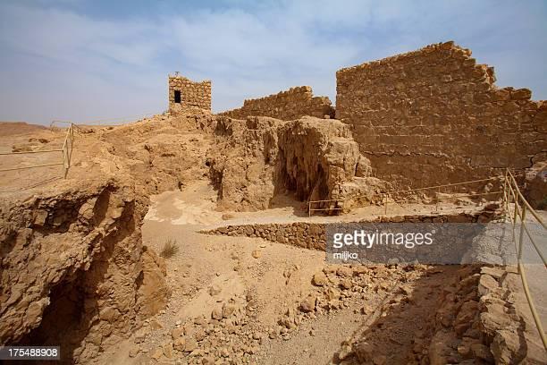 Masada National park in Judean desert, Israel