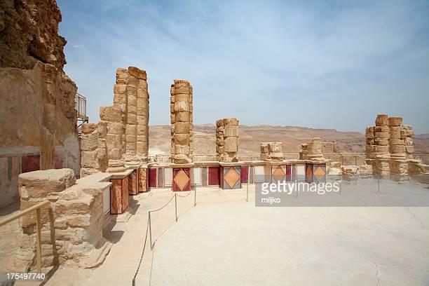 Parco Nazionale Masada nel Deserto di Giudea, Israele