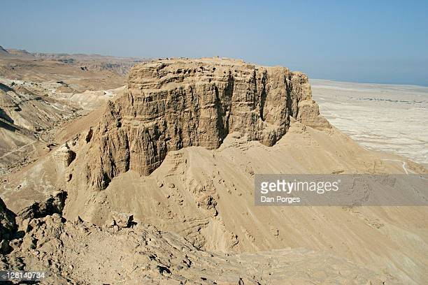 Masada, the last fortress in Judea to be conquered by the Romans in 73 AD.