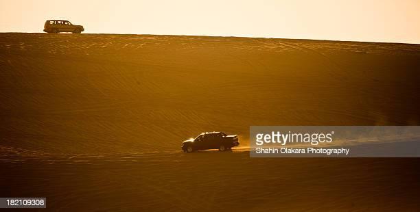 masaed sand dunes bashing - 砂丘 ストックフォトと画像