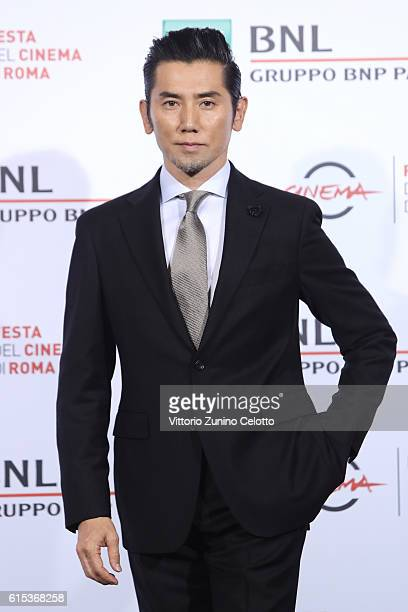 Masahiro Motoki attends a photocall for 'Nagai Iiwake The Long Excuse' during the 11th Rome Film Festival at Auditorium Parco Della Musica on October...
