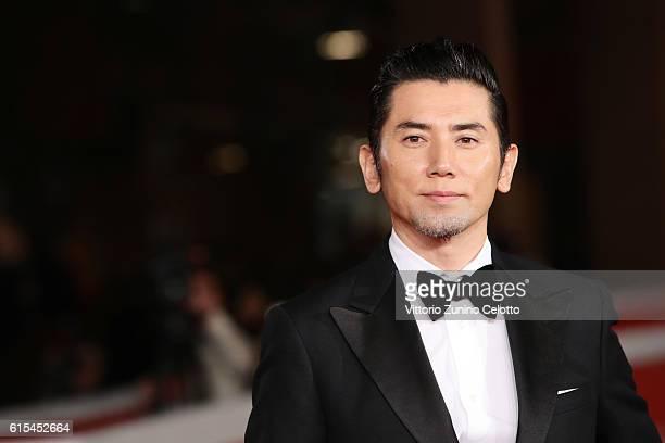 Masahiro Motoki walks a red carpet for 'Nagai Iiwake The Long Excuse' during the 11th Rome Film Festival at Auditorium Parco Della Musica on October...
