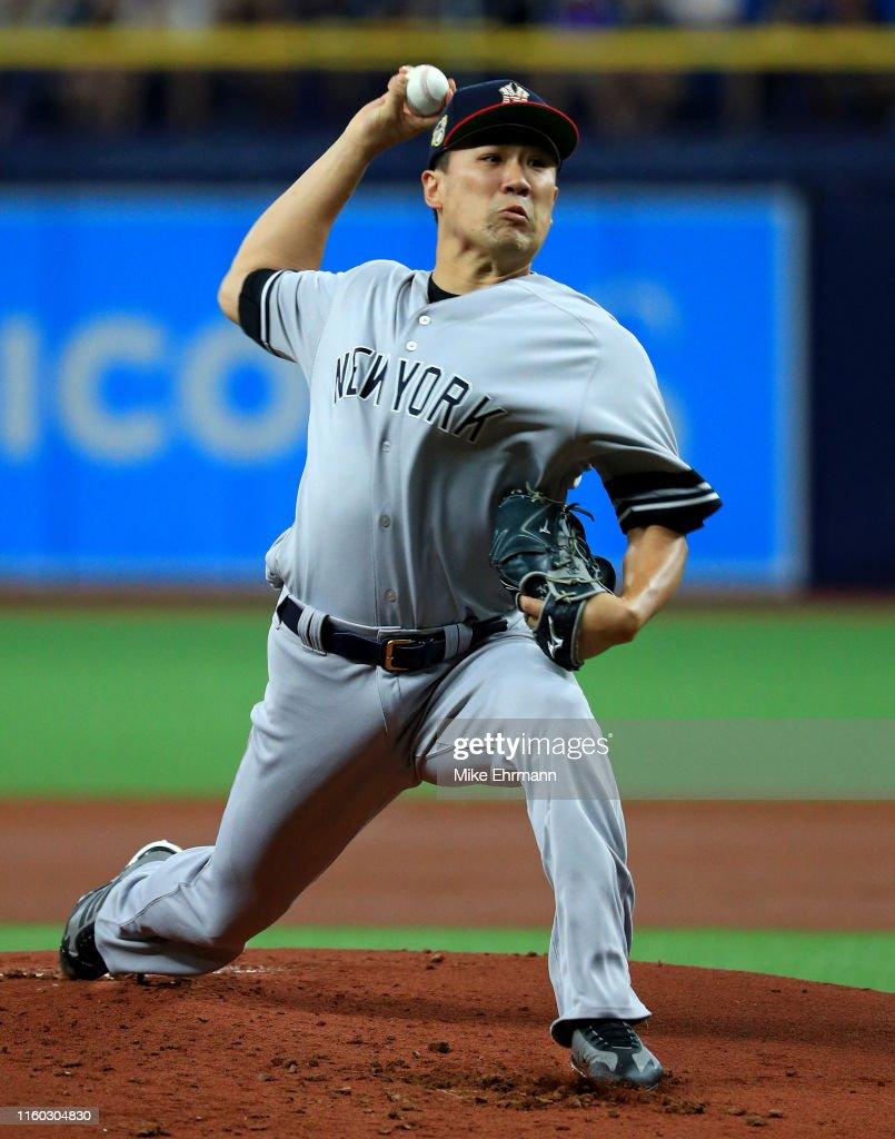 New York Yankees v Tampa Bay Rays : ニュース写真