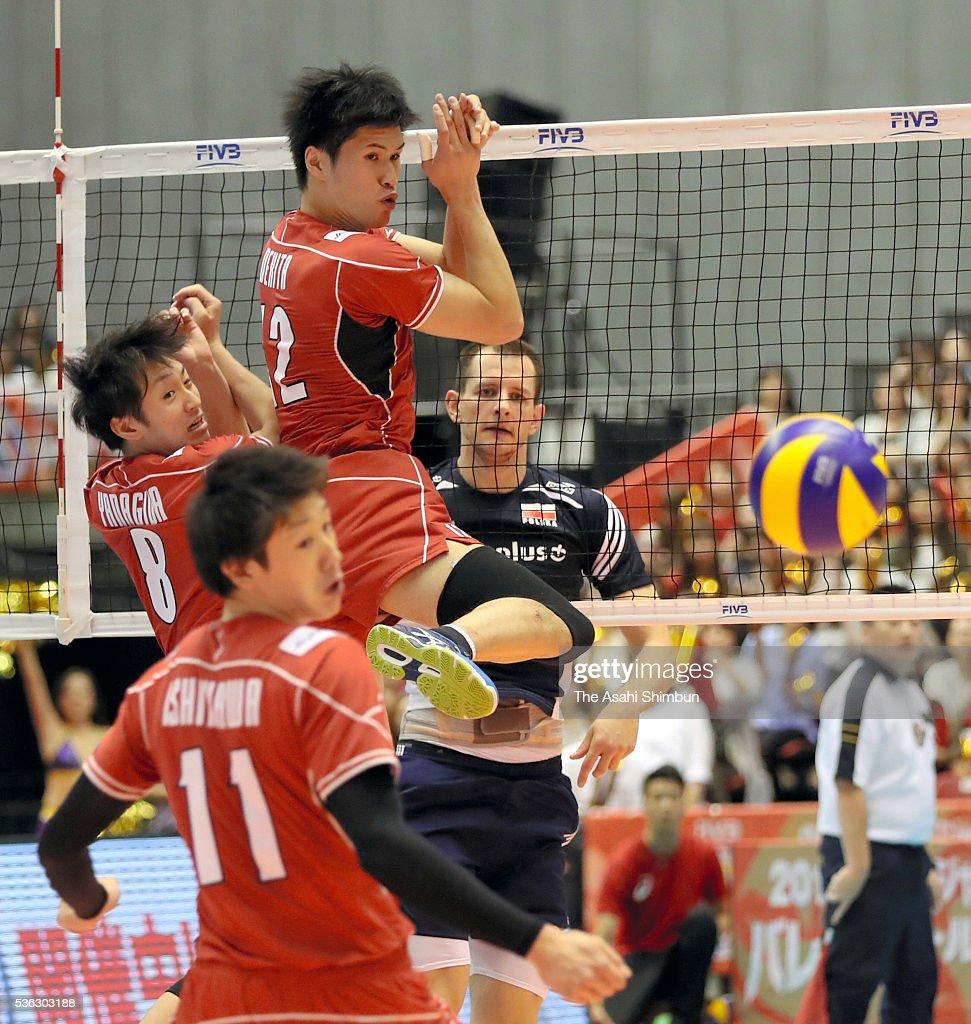 Japan v Poland - Men's World Olympic Qualification Tournament