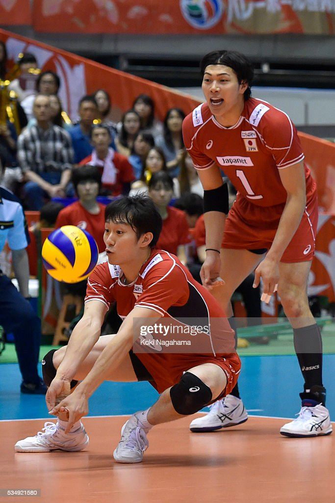 Japan v Venezuela - Men's World Olympic Qualification Tournament