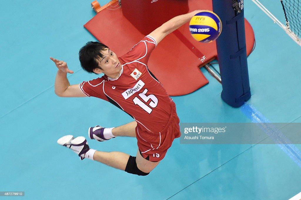 Japan v Egypt - FIVB Men's Volleyball World Cup Japan 2015