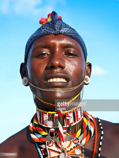 Masai man portrait