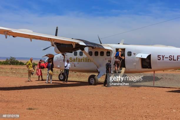 Masai Mara, Kenya - Boarding time at Olkiombo