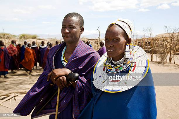 Masai mother and son.