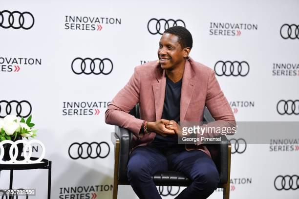 Masai Ujiri, President, Toronto Raptors attends the 2020 Audi Innovation Series on June 19, 2020 in Toronto, Canada.