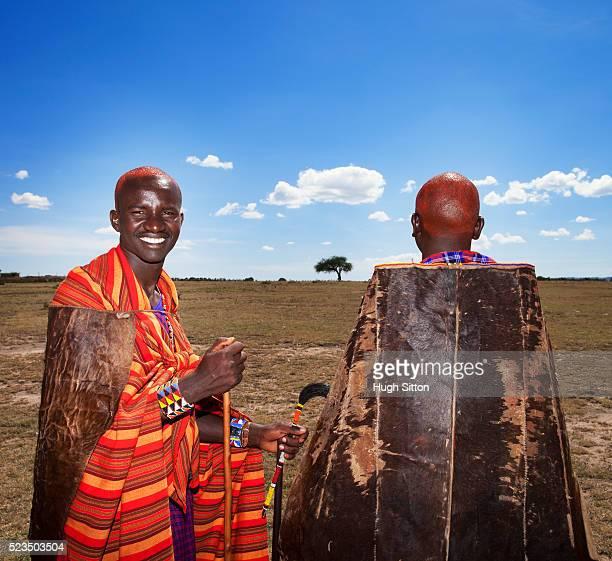 masais during traditional ceremony - hugh sitton - fotografias e filmes do acervo