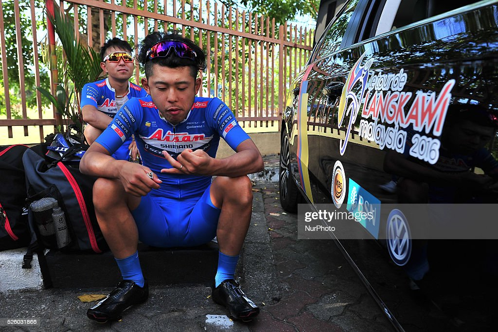 Stage 7 - the Tour de Langkawi 2016 - Before Start and after Finish : ニュース写真