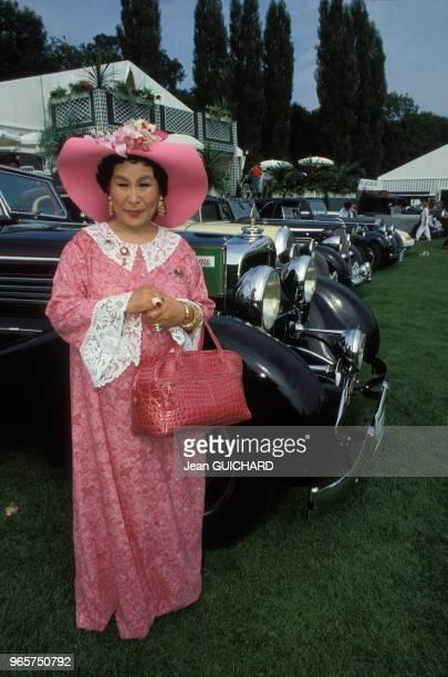 Masako Ohya au Trophée Lancôme de golf le 21 septembre 1987 à SaintNomla Bretèche France