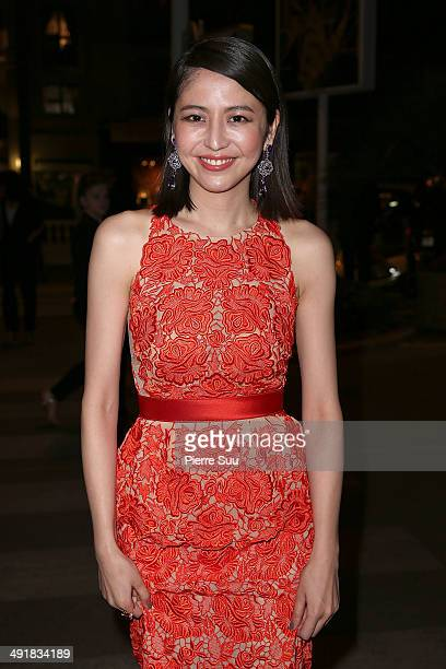 Masami Nagasawa attends 'The Crossing' party on day 4 of the 67th Annual Cannes Film Festival>> on May 17 2014 in Cannes France