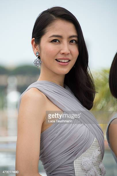 Masami Nagasawa attends the 'Notre Petite Soeur' photocall during the 68th annual Cannes Film Festival on May 14 2015 in Cannes France