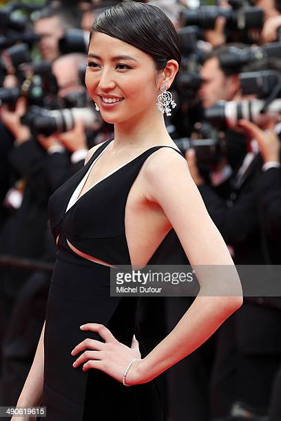 Masami Nagasawa attends the Opening ceremony and Premiere of 'Grace of Monaco' at the 67th Annual Cannes Film Festival on May 14 2014 in Cannes France