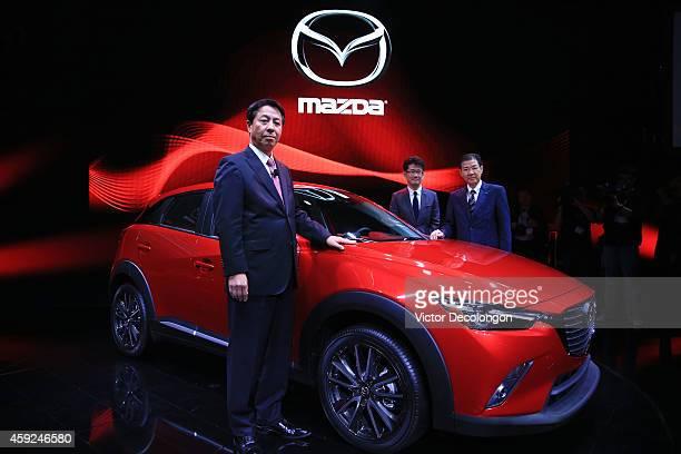 Masamichi Kogai Representative Director and President and CEO Mazda Ikuo Maeda Executive Officer Design Chief Mazda and Michio Tomiyama Program...