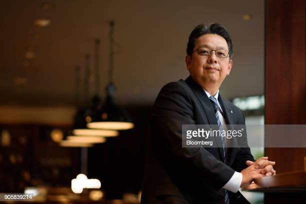 Masamichi Terabatake president and chief executive officer of Japan Tobacco Inc poses for a photograph in Tokyo Japan on Wednesday Jan 17 2018 Japan...