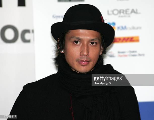 Masanobu Ando during 11th Pusan International Film Festival Nightmare Detective Press Conference at PIFF Pavillion in Pusan South Korea