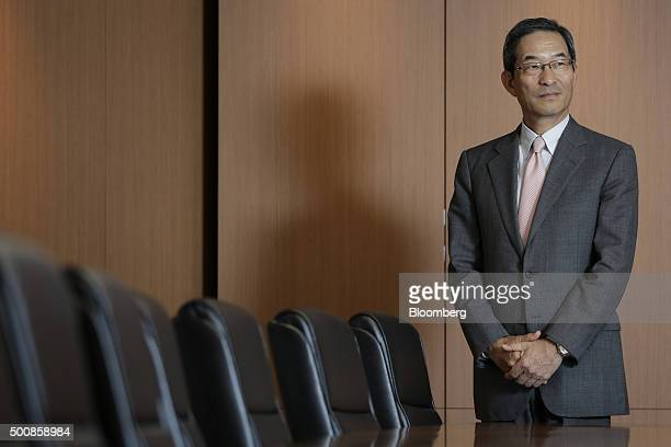 Masaru Irie, chief executive officer of Tokyo Star Bank Ltd., poses for a photograph at the company's headquarters in Tokyo, Japan, on Thursday, Nov....