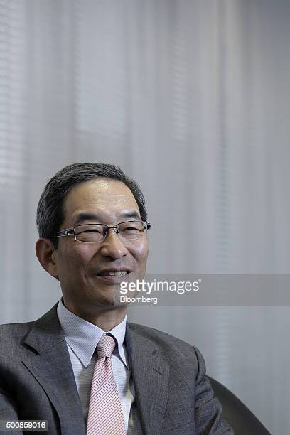 Masaru Irie, chief executive officer of Tokyo Star Bank Ltd., speaks during an interview at the company's headquarters in Tokyo, Japan, on Thursday,...