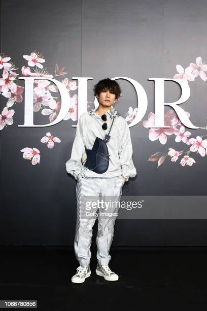 Masato Hanazawa attends the photocall at the Dior Pre Fall 2019 Men's Collection on November 30, 2018 in Tokyo, Japan.