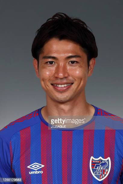 Masato Morishige poses for photographs during the FC Tokyo portrait session on January 8, 2020 in Japan.