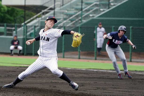 JPN: Japan v USA - Collegiate Baseball Championship Series Game 3