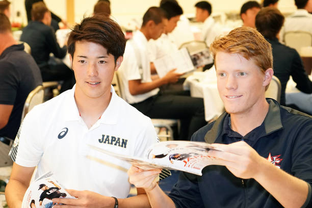 JPN: Japan v USA - Collegiate Baseball Championship Series Reception