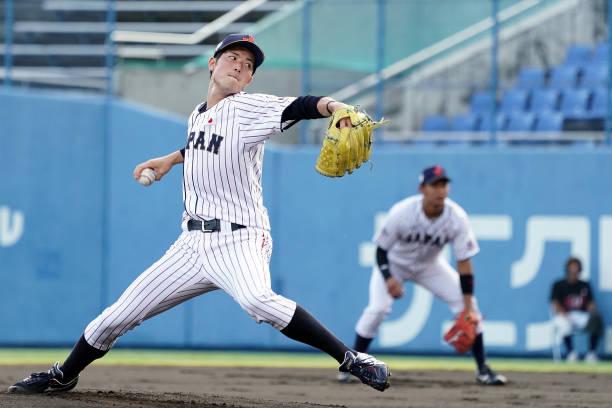 JPN: Japan v USA - Collegiate Baseball Championship Series Game 1