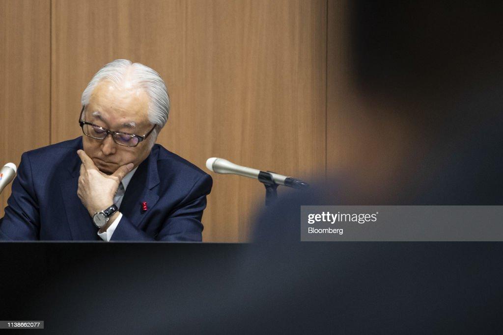 JPN: Japan Post Holdings President Masatsugu Nagato Press Briefing