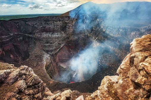 Masaya Volcano National Park in Nicaragua 1051417412
