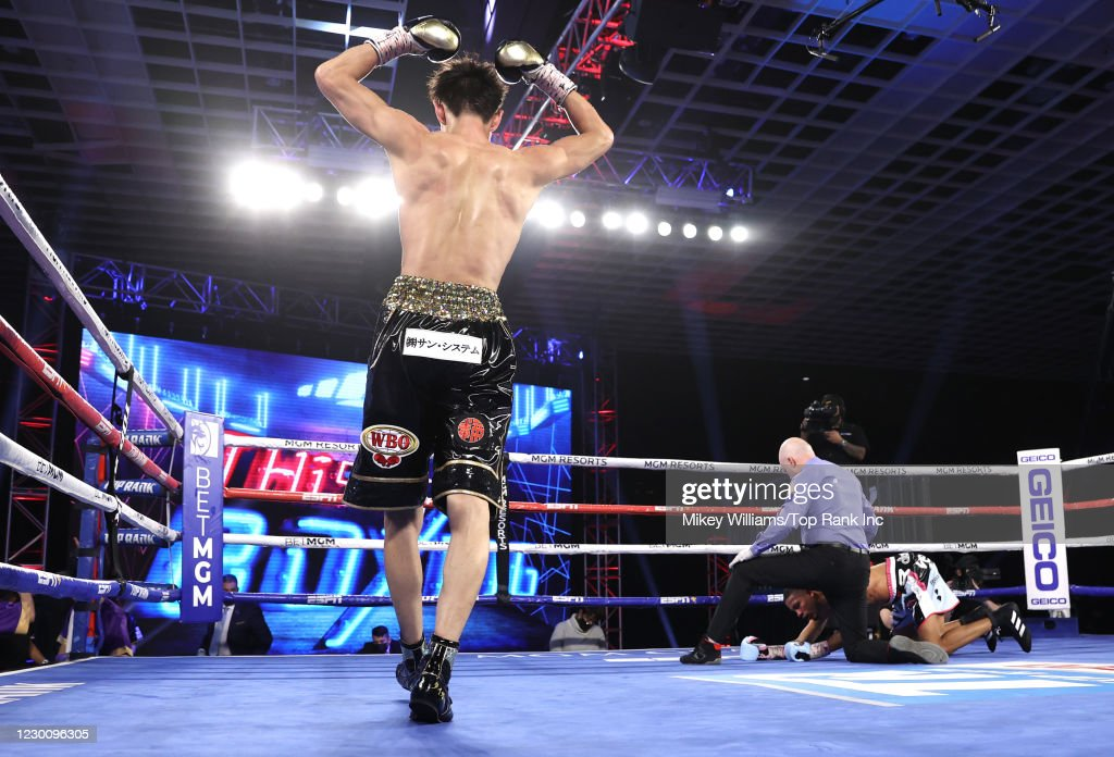 Shakur Stevenson v Toka Khan-Clary - Fight Night : ニュース写真