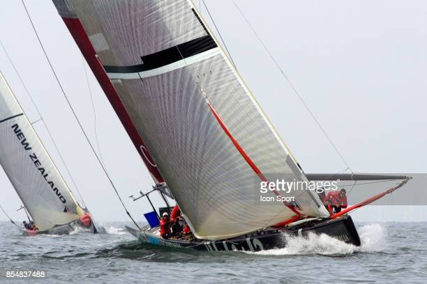 Mascalzone Latino / Team New Zealand - - Round Robin 1 - Louis Vuitton Cup 2007 - Valence -