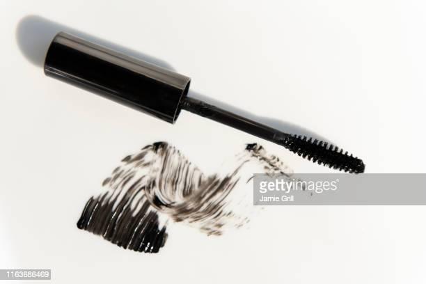 mascara brush - mascara stock pictures, royalty-free photos & images
