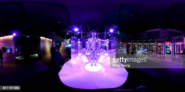 Maschinenmensch on display at the Science Museum at Preview Of The Science Museum's Robots Exhibition at Science Museum on February 7 2017 in London...