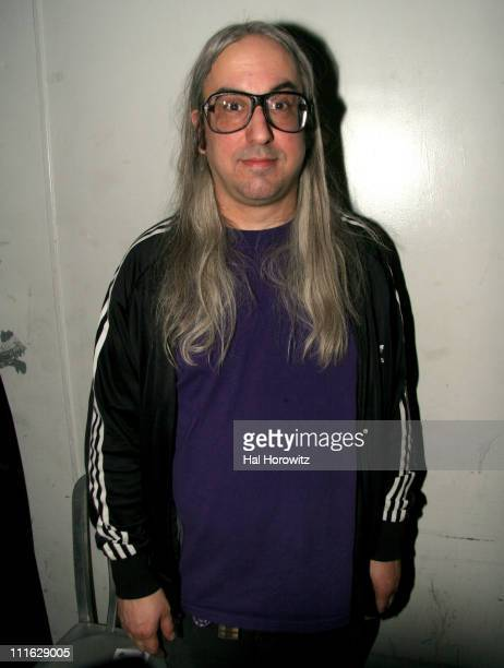 J Mascis of Dinosaur Jr during Pete Townshend of The Who and Rachel Fuller Hold Attic Jam Show at Joe's Pub February 20 2007 at Joe's Pub in New York...