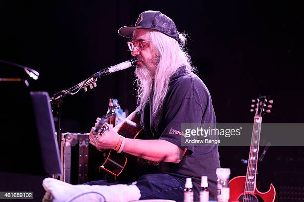 Mascis performs on stage at Brudenell Social Club on January 17 2015 in Leeds United Kingdom