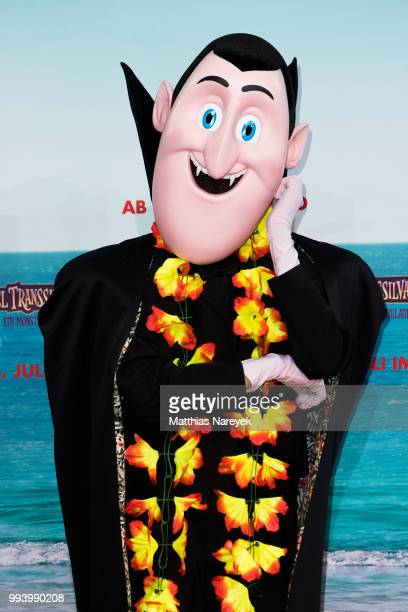 A mascot attends the 'Hotel Transsilvanien 3' premiere at CineStar on July 8 2018 in Berlin Germany