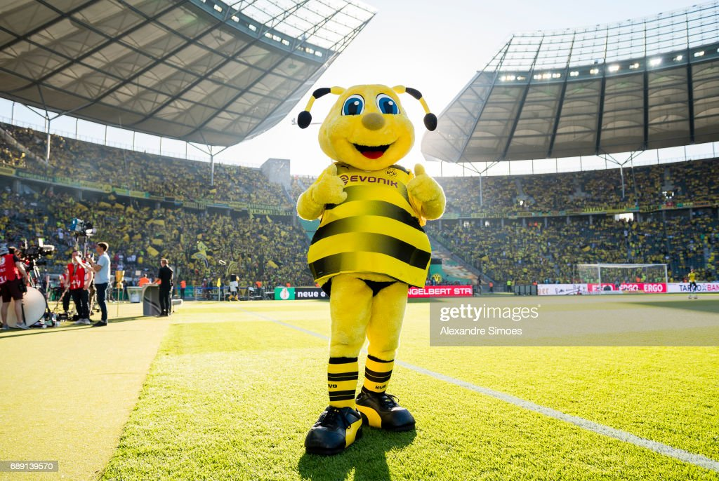 Mascot Emma Of Borussia Dortmund Prior To The Dfb Cup Final Match News Photo Getty Images