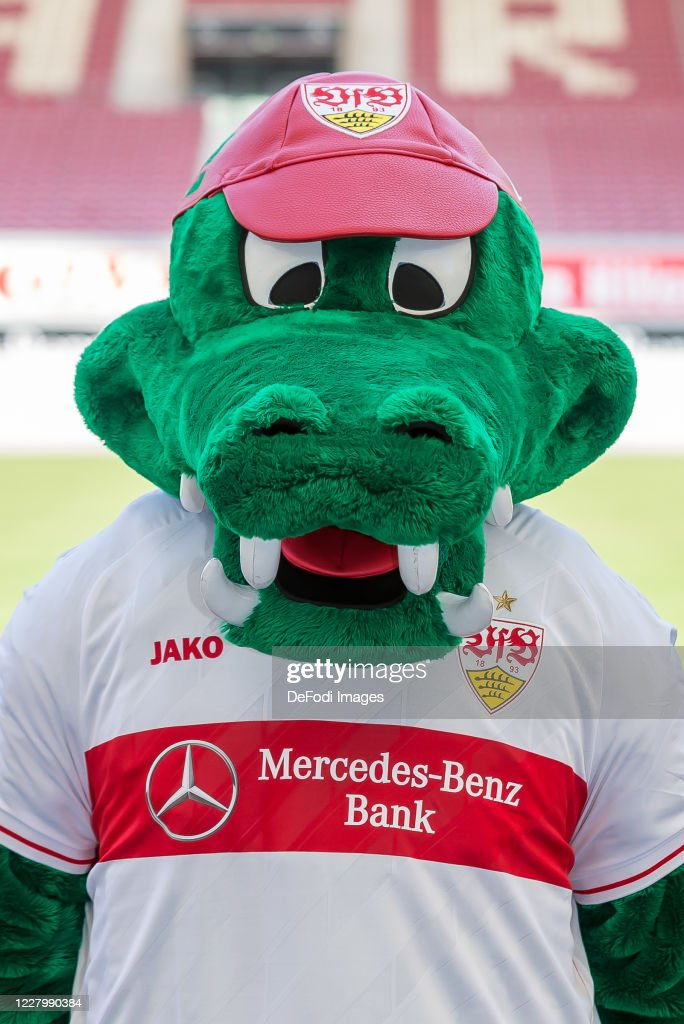 Mascot Fritzle Of Vfb Stuttgart Looks On During The Team Presentation News Photo Getty Images