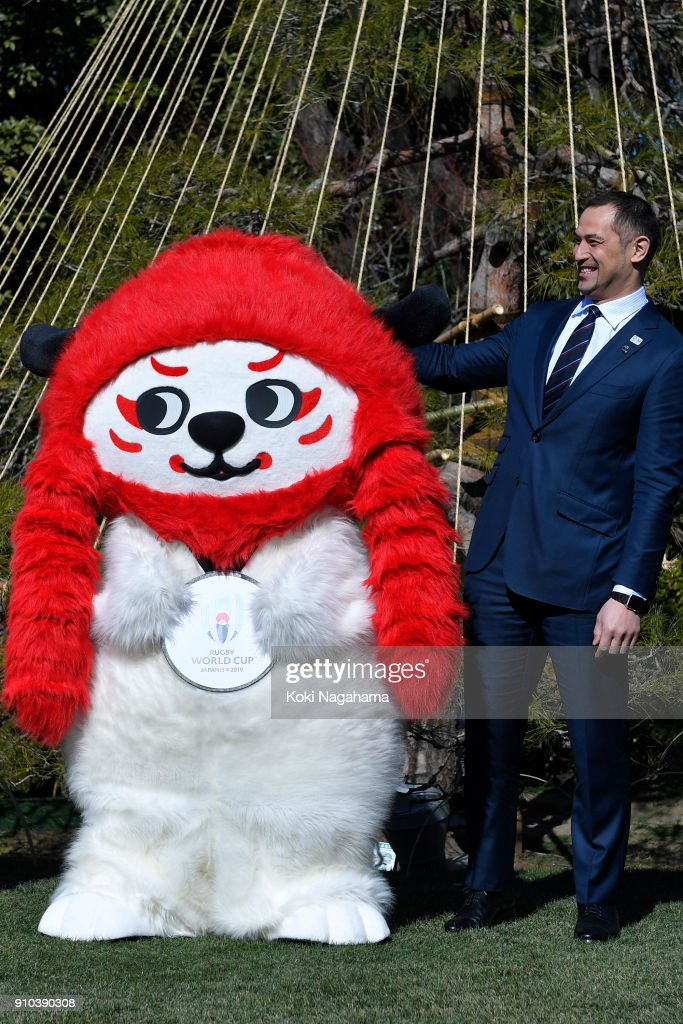Rugby World Cup Official Mascot Unveiling