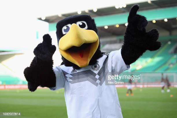 Mascot Paule during the International Friendly match between Germany U21 and Mexico U21 at Sportpark Ronhof Thomas Sommer on September 7 2018 in...